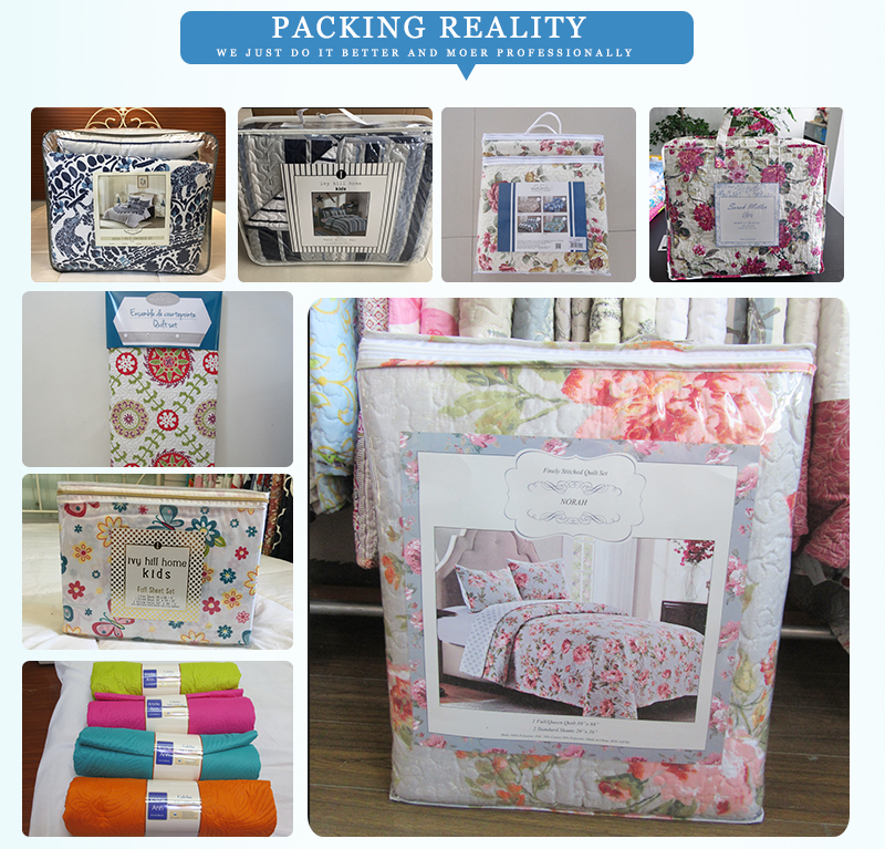 HJ Home Fashion Quilt Packing
