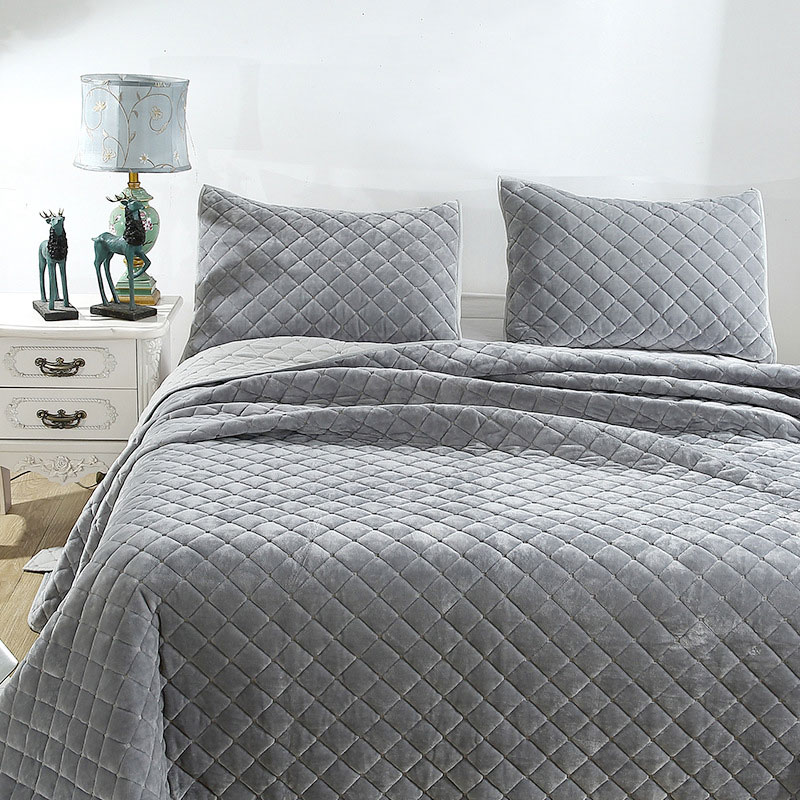 gray flannel quilt covers