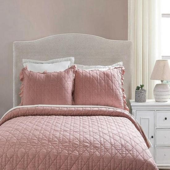 stone washed crinkle bedspread